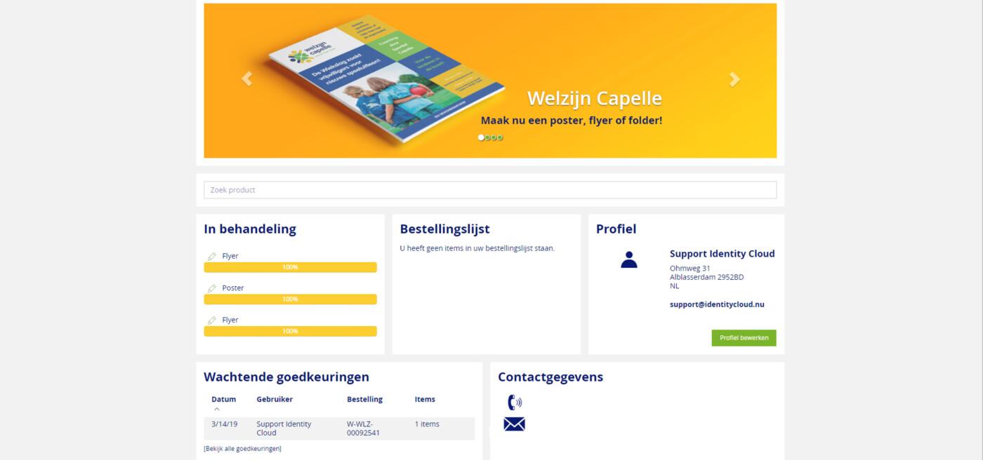 Een persoonlijk dashboard met al uw documenten en activiteiten